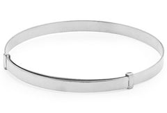 Piccolo Expandable Silver Bangle