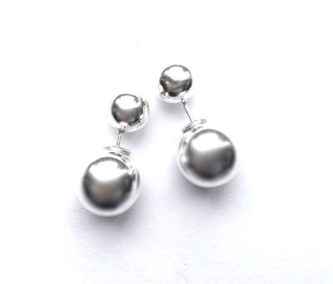 Sterling Silver Reversable Earrings