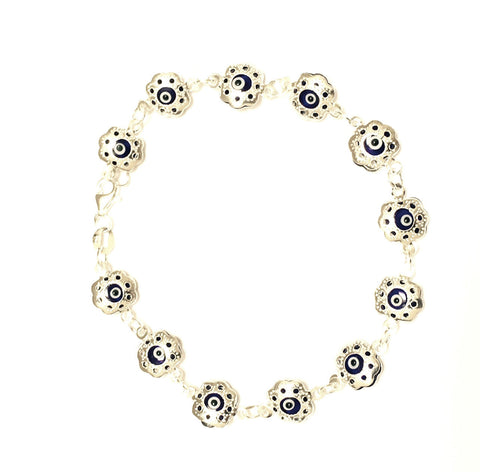 Evil Eye Dark Blue Bracelet