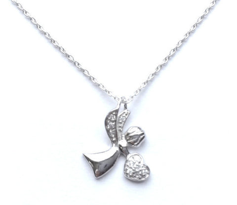 Loving Angel Necklace Set