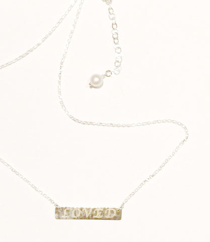 Kimberley Lang LOVED Necklace