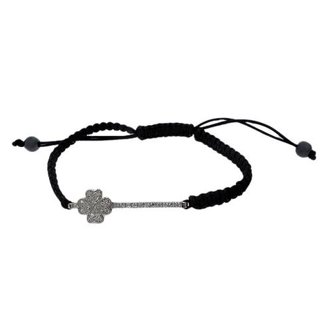 Lucky Clover Adjustable Bracelet