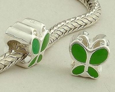 Pendant - Green Butterfly