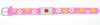 Medical Alert ID - Pink Flowers Silicone Bracelet