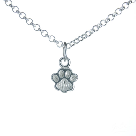 Doggie Paw Necklace Set