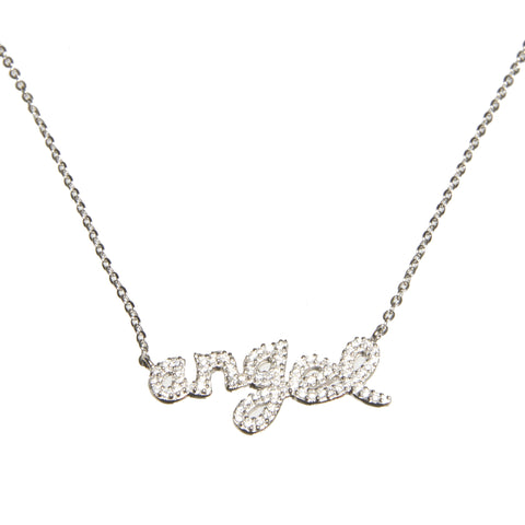 """Angel"" Sterling Silver Necklace"