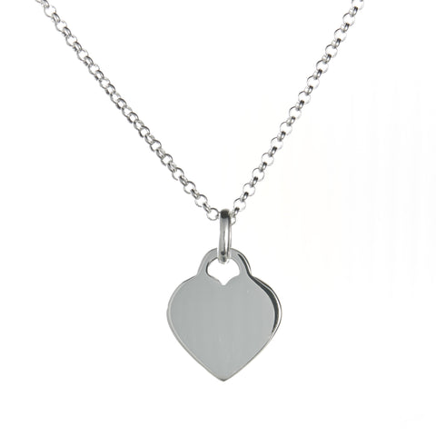 """Her"" Heart Necklace Set"