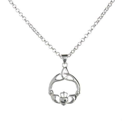 Claddagh Necklace Set
