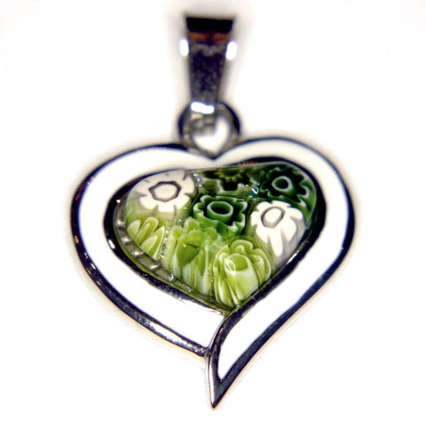 Murano Glass Heart