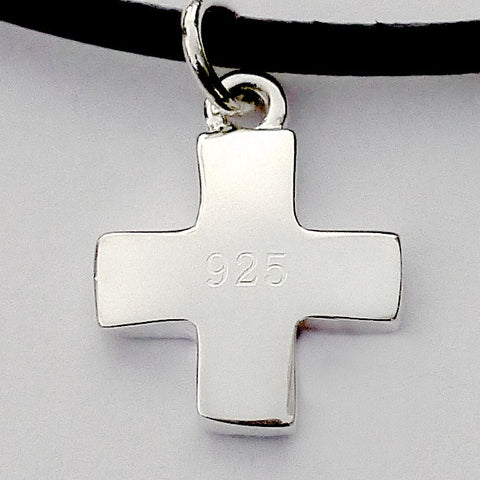 Small Cross Necklace Set