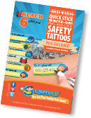 Safety Tats - Beach Collection
