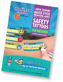 Safety Tats - Monster Mash Collection