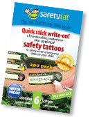 Safety Tats - Zoo Collection