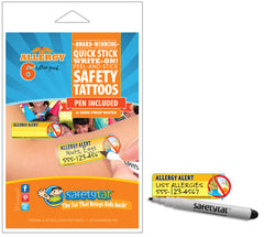 Safety Tats - Allergy Collection