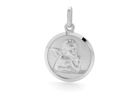 Piccolo - Guardian Angel Silver Pendant