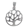 Sterling Silver Tree of Life Necklace Set