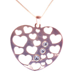 Rose Gold Lots of Love Pendant