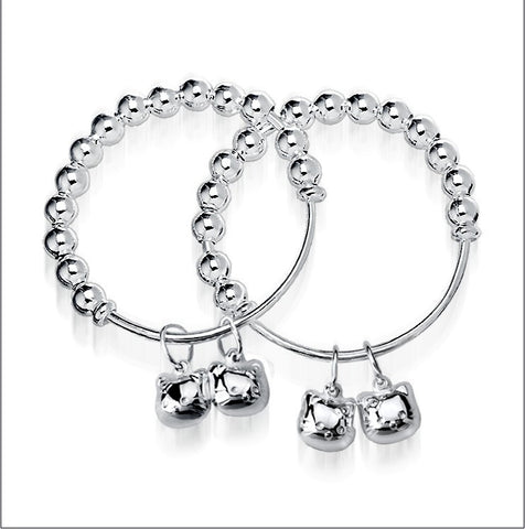 Adjustable Bangle for Kids - Kitty Cats