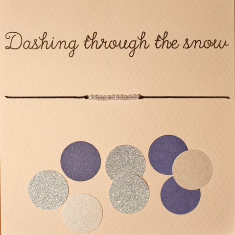 "Mai-Lin - ""Dashing through the snow"""