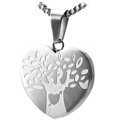 Tree of Life (Heart) Necklace Set