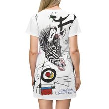 Load image into Gallery viewer, Personalized All Over Print T-Shirt Dress