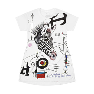 Personalized All Over Print T-Shirt Dress