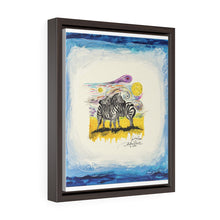 Load image into Gallery viewer, Vertical Framed Premium Gallery Wrap Canvas