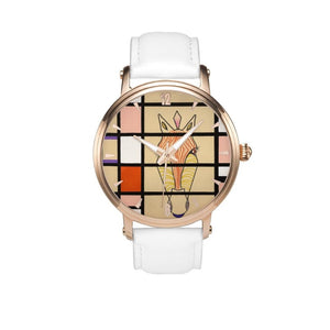 Mondrian Zebra Watch White / 46Mm Style