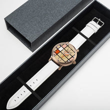 Load image into Gallery viewer, Mondrian Zebra Watch