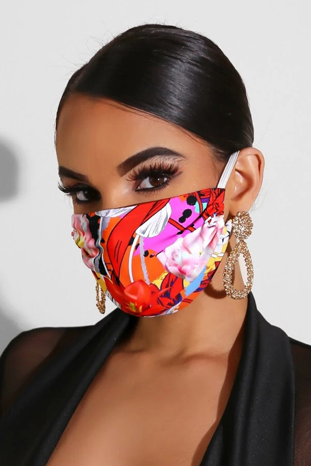 Young Print Face Mask