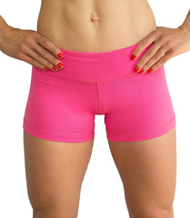 Women's tight shorts Pink