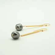 tube nugget earrings