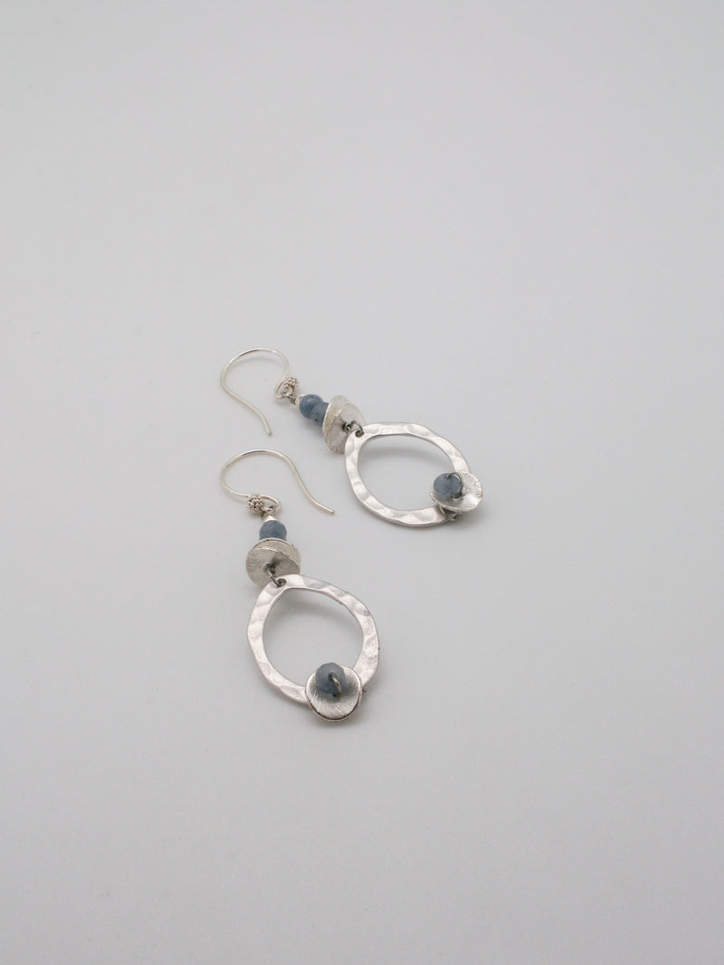small contour drop earrings