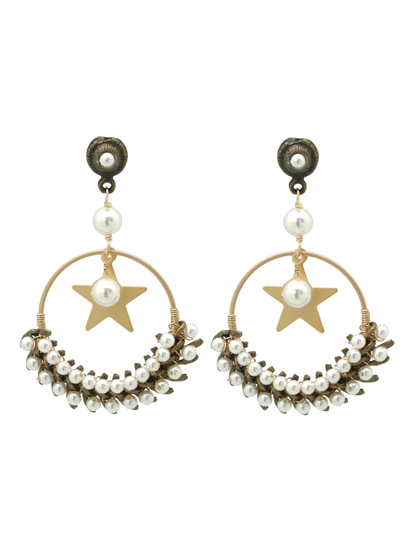 fishbone star hoops