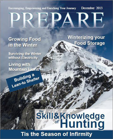 *PREMIUM MEMBER DISCOUNT*  Print PREPARE Magazine Subscription (6 Issues Mailed)