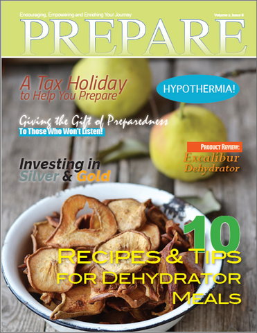 Print Subscription of PREPARE Magazine (6 Issues Mailed)