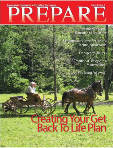 PREPARE Magazine Back Issue - Volume 1, Issue 6