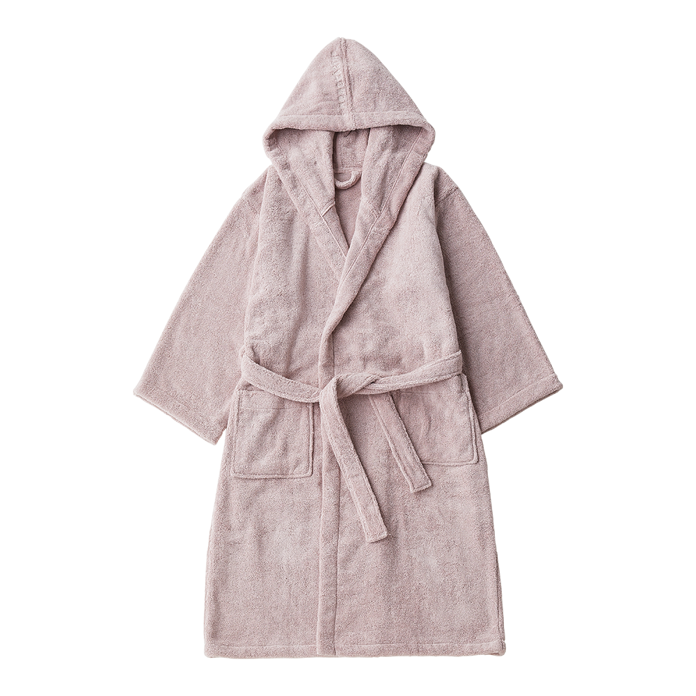 Organic Cotton Bath-Robe with Hood