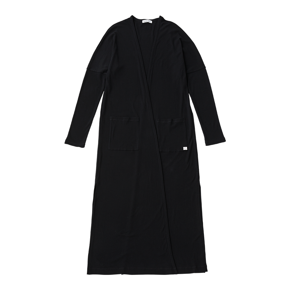 Superior pima high gauge long cardigan
