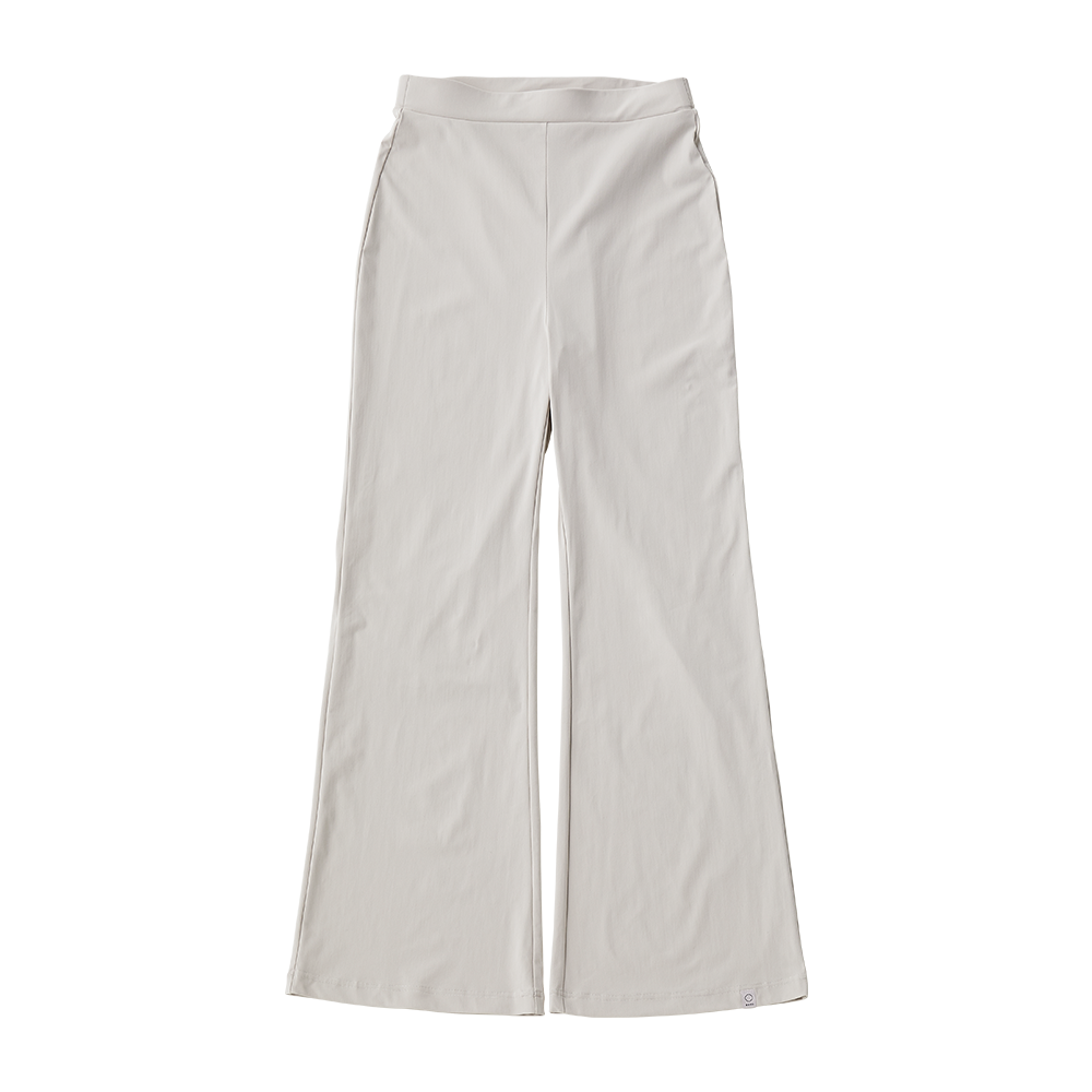 Meryl high tension flare pants