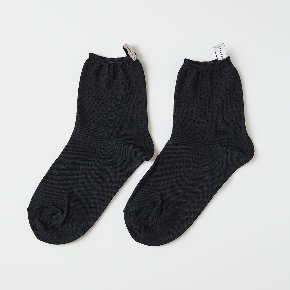 High gauge solid socks