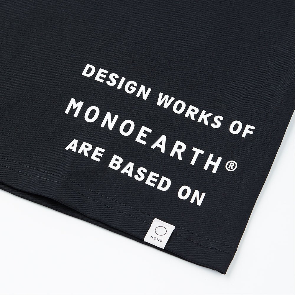 Ultima message tee DESIGN WORKS FOR MONOEARTH ARE BASED ON