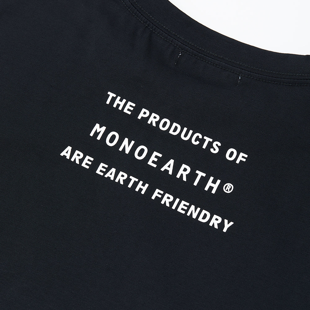 Ultima message tee THE PRODUCS OF MONOEARTH®︎ ARE EARTH FRIENDRY