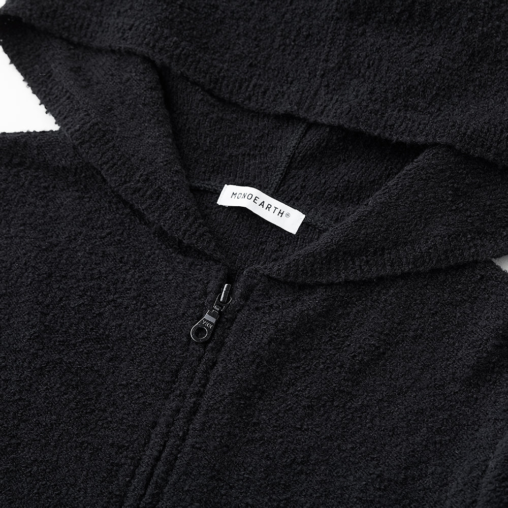 Loop knit parka