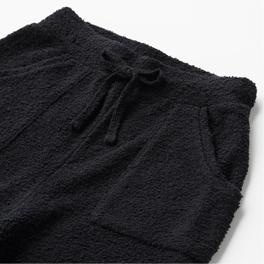 Loop knit long pants