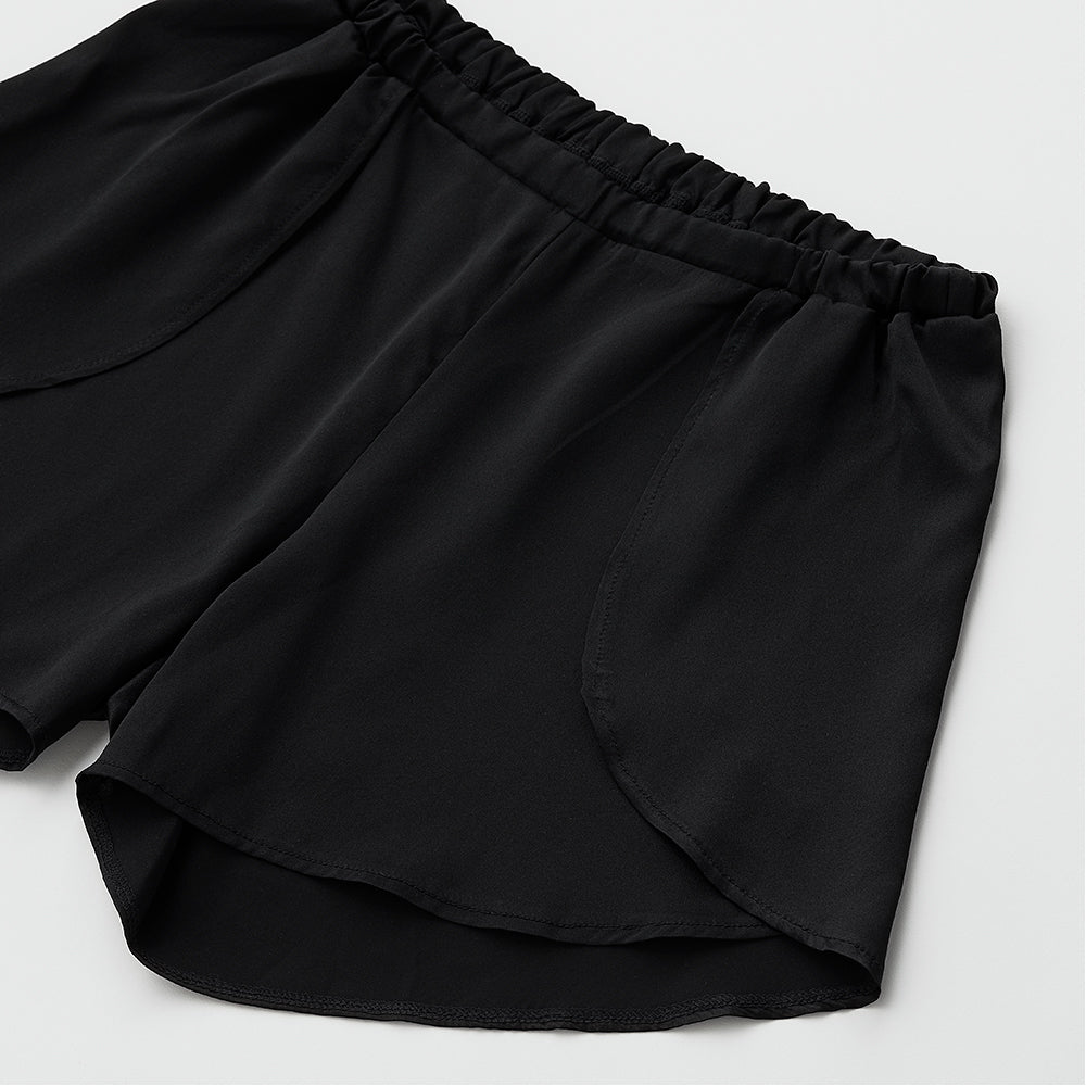 Silk satin strech short pants