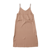 silk satin strech slip dress