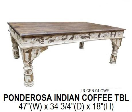 Ponderosa Indian Coffee Table