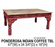 Load image into Gallery viewer, Ponderosa Indian Coffee Table
