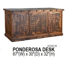 Load image into Gallery viewer, Ponderosa Executive Desk
